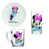 Josef Mäser GmbH 3-tlg. Kindergeschirr Disney Minnie Mouse