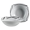 Josef Mäser GmbH Two Tone 23 cm Porcelain Bowl Set (Set of 2)