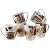 Josef Mäser GmbH Latte Macchiato Coffee Mug Set (Set of 6)