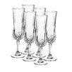 Josef Mäser GmbH Longchamp 6 Piece Champagne Flute Set