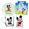 Josef Mäser GmbH Disney Colours 3-Piece Children's Dinnerware Set