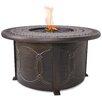 Endless Summer Cast Aluminum Propane Outdoor Fire Pit Table