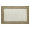 Dynamic Rugs Manhattan Ivory Solid Bordered Area Rug