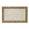 Dynamic Rugs Manhattan Beige/Gold Solid Bordered Rug