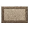 Dynamic Rugs Manhattan Taupe Solid Bordered Area Rug