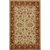 Dynamic Rugs Sapphire Ivory / Red Oriental Area Rug