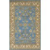 Dynamic Rugs Sapphire Blue / Ivory Oriental Area Rug