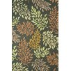 Dynamic Rugs Florence Charcoal Green Rug