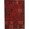 Dynamic Rugs Odyssey Red Stripe Rug