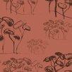 "Tres Tintas Barcelona 9 Selvas de Mariscal El Pinar De Las Dunas 33' x 21"" Botanical Wallpaper"