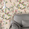 "Tres Tintas Barcelona Wall A Porter Daks 33' x 21"" Floral and botanical Wallpaper"