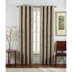 Brielle Sand Dunes Grommet Single Curtain Panel