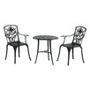 Inko 3-tlg. Bistro-Set Rose