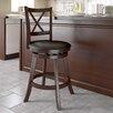 "dCOR design Woodgrove 29"" Swivel Bar Stool with Cushion"