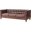 dCOR design Abbott Cigar Leather Sofa