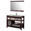"dCOR design 43"" Single Bathroom Vanity Set with Mirror"