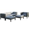 dCOR design Oakland 6 Piece Lounge Seating Group with Cushions