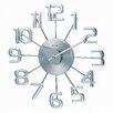 """dCOR design Telechron 13.38"""" Numerals Wall Clock"""