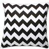 Sweet Home Collection Decorative Chevron Cotton Throw Pillow (Set of 2)