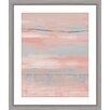 Mercury Row Blush Framed Painting Print