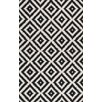 Mercury Row Kellee Black Area Rug