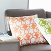 Mercury Row Throw Pillow in Orange
