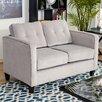 Mercury Row Leda Loveseat by Serta Upholstery