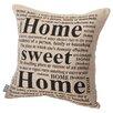 Mercury Row Home Sweet  Throw Pillow