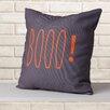 Mercury Row Booo! Indoor/Outdoor Throw Pillow