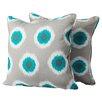 Mercury Row Indoor/Outdoor Throw Pillow (Set of 2)