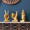 Mercury Row 3 Piece Hand Decor Set