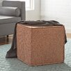 Mercury Row Spotted Pouf Square Ottoman