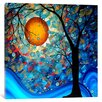 Mercury Row 'Blue Essence Original' by Megan Duncanson Painting Print on Wrapped Canvas