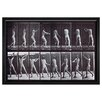 Mercury Row Male Throwing a Hammer Framed Graphic Art