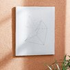 Mercury Row Chalk Sketch Triangles Graphic Art