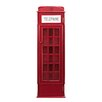 Mercury Row Angeles Phone Booth Storage Cabinet