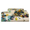 Mercury Row Chiron 300 Thread Count Floral Printed Deep Pocket Sheet Set