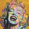 Mercury Row Marilyn Painting Print on Wrapped Canvas