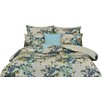 Mercury Row Chiron 5-Piece Cotton Floral Duvet Cover Set