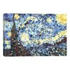 Mercury Row 'The Starry Night Derezzed' by 5by5collective Painting Print on Wrapped Canvas