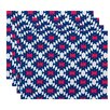 Mercury Row Luna Jodhpur Kilim 2 Geometric Print Placemat (Set of 4)