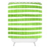 Mercury Row Sophocles Spruce Stripes Shower Curtain