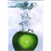 Mercury Row Apple Splash II Photographic Print on Canvas
