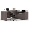 Mercury Row Ariana 2-Piece L-Shape Desk Office Suite