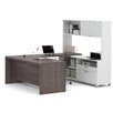 Mercury Row Ariana 4-Piece U-Shape Desk Office Suite