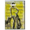 Mercury Row Bathing Beauty Graphic Art on Wrapped Canvas