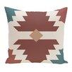 Mercury Row Cleon Geometric Outdoor Throw Pillow