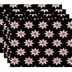 Mercury Row Christmass Stars 1 Geometric Print Placemat (Set of 4)