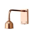 Mercury Row Ashmore 1 Light Metal Wall Lamp