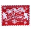 Mercury Row Chalkboard Christmas Rectangular Platter